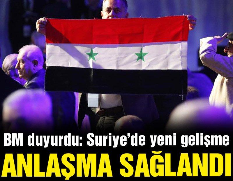 Suriye'de anlaşma sağlandı! Yeni anayasa için taslak süreci başlıyor