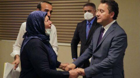 Ali Babacan, Şenyaşar ailesiyle görüştü