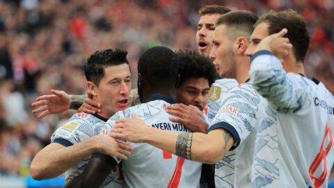 Bayern Münih'ten 34 dakikalık resital!