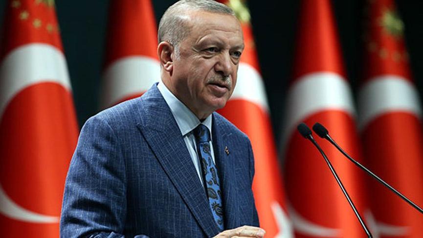 Cumhurbaşkanı Erdoğan Azerbaycan'ın 'Bağımsızlık Günü'nü kutladı