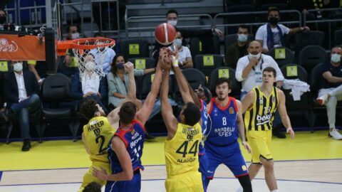 Fenerbahçe Beko'dan Anadolu Efes'e fark