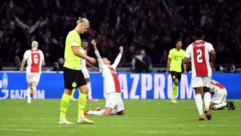 Ajax, Dortmund'a tarihi hezimeti tattırdı!