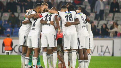 Beşiktaş Sporting Lizbon karşısında kader maçında