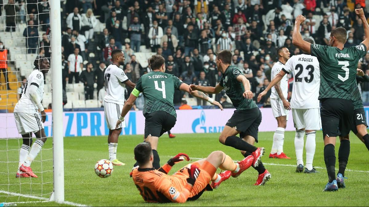 Beşiktaş, Şampiyonlar Ligi'nde yine hüsran yaşadı!