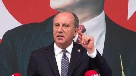 İnce'den Erdoğan'a 100 bin liralık maaş tepkisi: Hayat sana güzel!