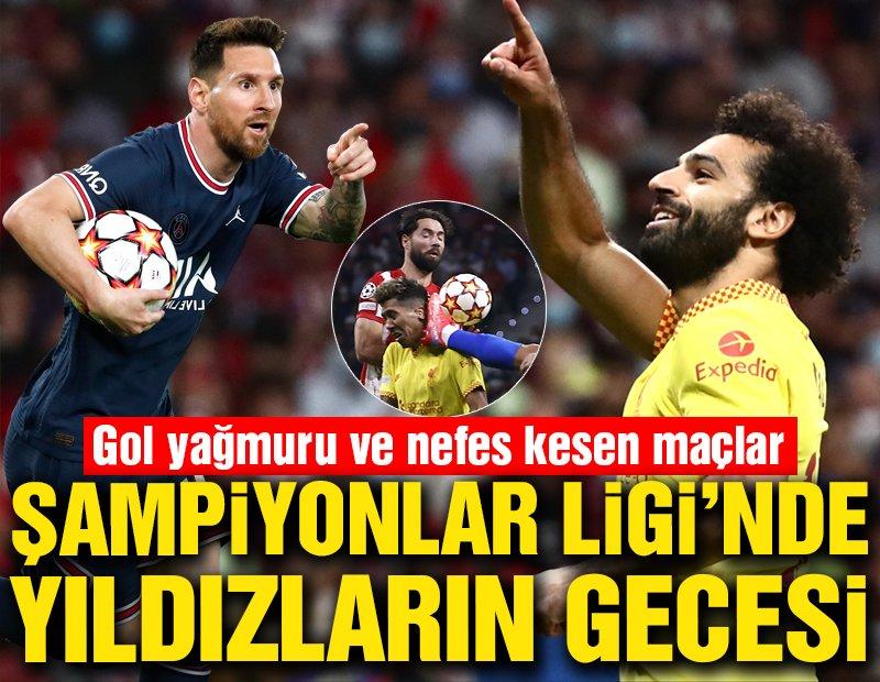 Şampiyonlar Ligi'nde Messi ve Salah şov! Toplu sonuçlar…