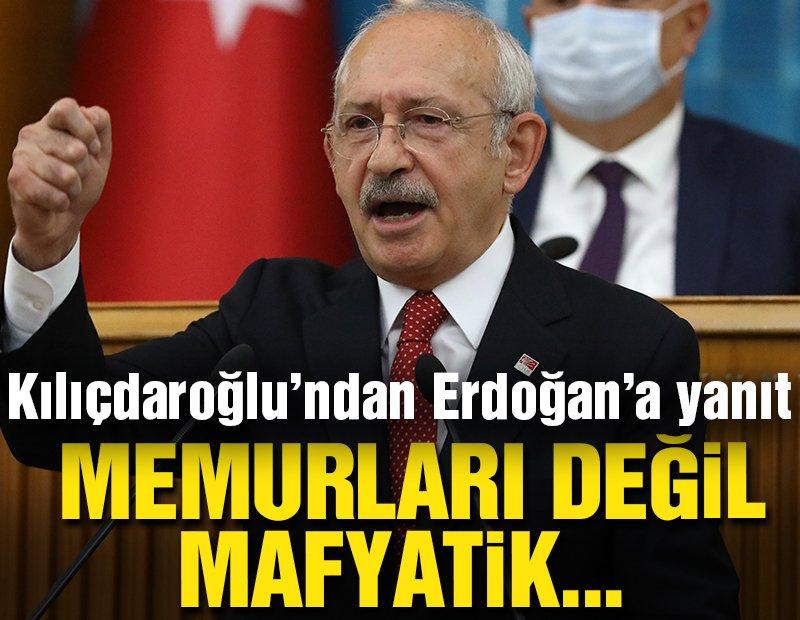Kılıçdaroğlu'dan kendisi hakkında suç duyurusunda bulunan Erdoğan'a yanıt