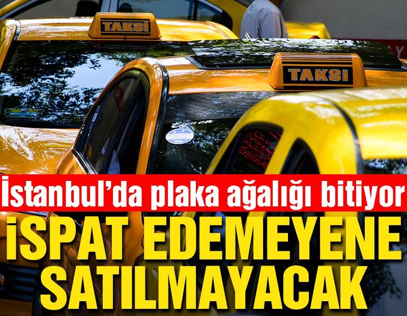 Geçim kaynağının şoförlük olduğunu ispat edemeyene taksi plakası satılmayacak