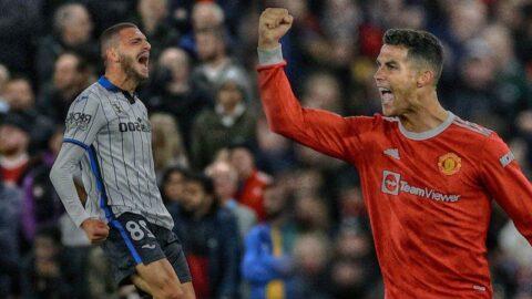 Merih başladı, Ronaldo noktaladı! Old Trafford'da müthiş gece...