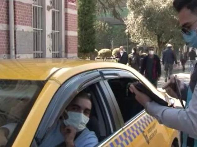 Taksiciden tepki: 'Başka mesleklerde işini kötü yapan yok mu'