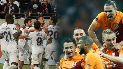 Fenerbahçe ve Galatasaray Avrupa sahnesinde
