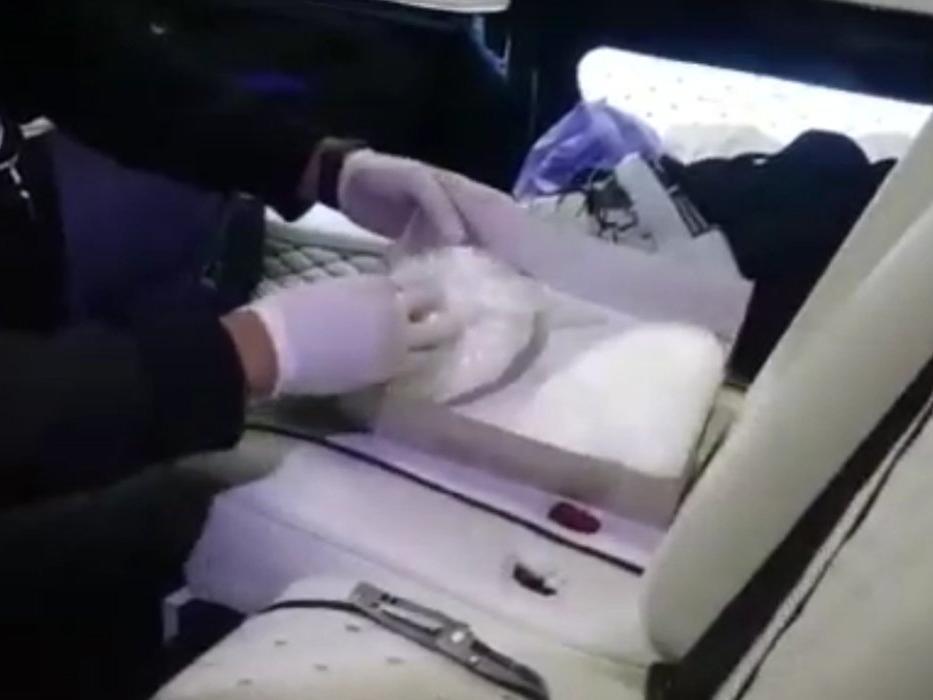 Ayakkabı kutusundan uyuşturucu çıktı
