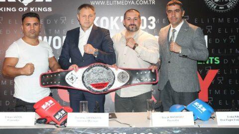 Dünyanın en iyi kick boksçuları İstanbul'da olacak