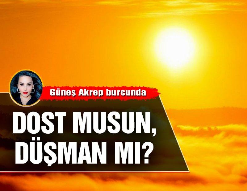 23 Ekim – 22 Kasım Güneş Akrep burcunda: Dost musun, düşman mı?