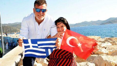 Türk-Yunan aşkı Ege ile Akdeniz'e köprü olacak