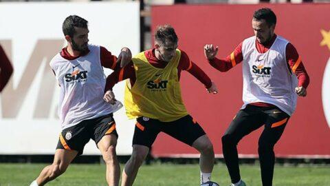 Galatasaray derbi hazırlıklarına başladı! Boey takımdan ayrı çalıştı