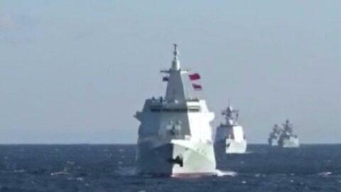 Rus ve Çin donanmalarından ortak devriye
