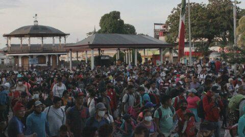 Meksika'da göçmenler ayaklandı