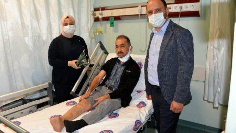 'Kesilecek' ayağı, kök hücre tedavisi ile kurtardı