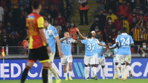 Lider Trabzonspor, Göztepe'yi tek golle geçti