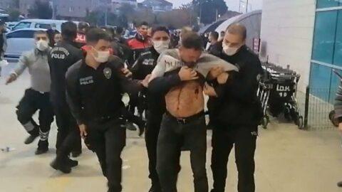 Bıçaklı kavga hastaneye taşındı, yaralı sayısı arttı