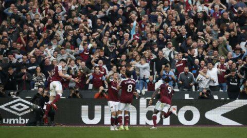 Londra derbisinde gülen West Ham