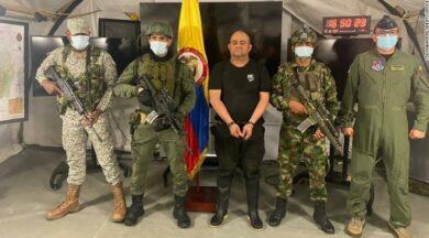 Kolombiya'nın en büyük uyuşturucu kaçakçısı yakalandı