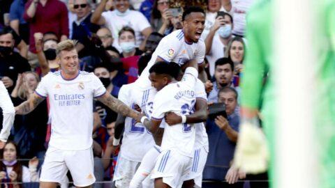 El Clasico'da Real Madrid, Barcelona'ya şans tanımadı!