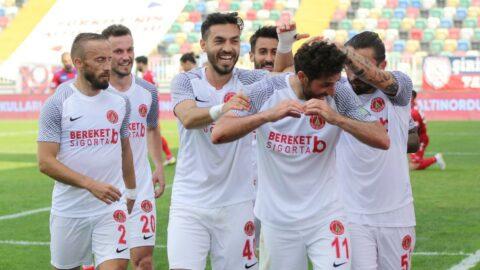 Ümraniyespor İzmir'de koltuğu geri aldı