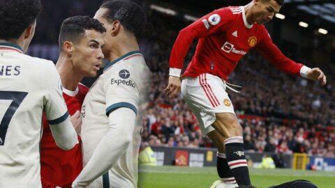 Ronaldo sinirlerine hakim olamadı, Old Trafford karıştı!