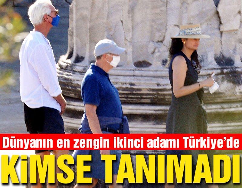 Bill Gates, ultra lüks yatlarıyla Türkiye kıyılarını geziyor