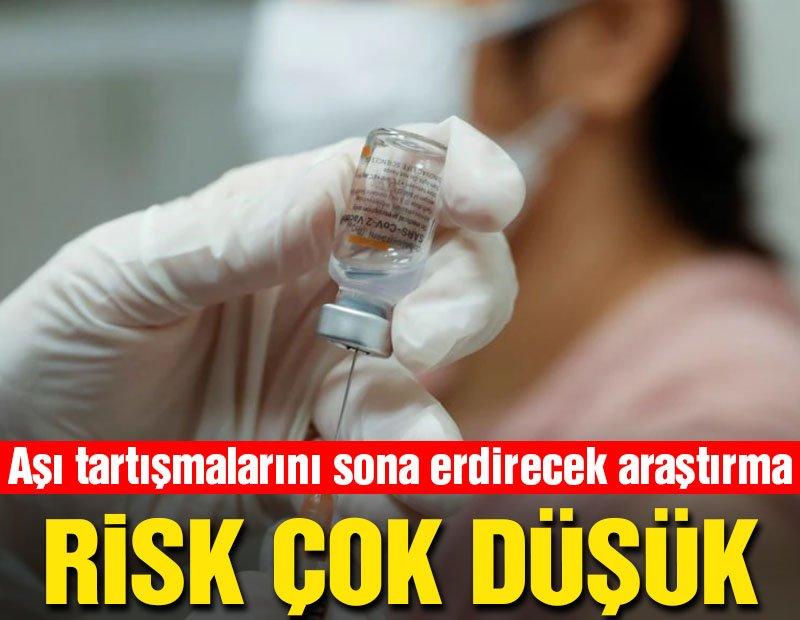 Aşı tartışmalarını sona erdirecek araştırma yayınlandı