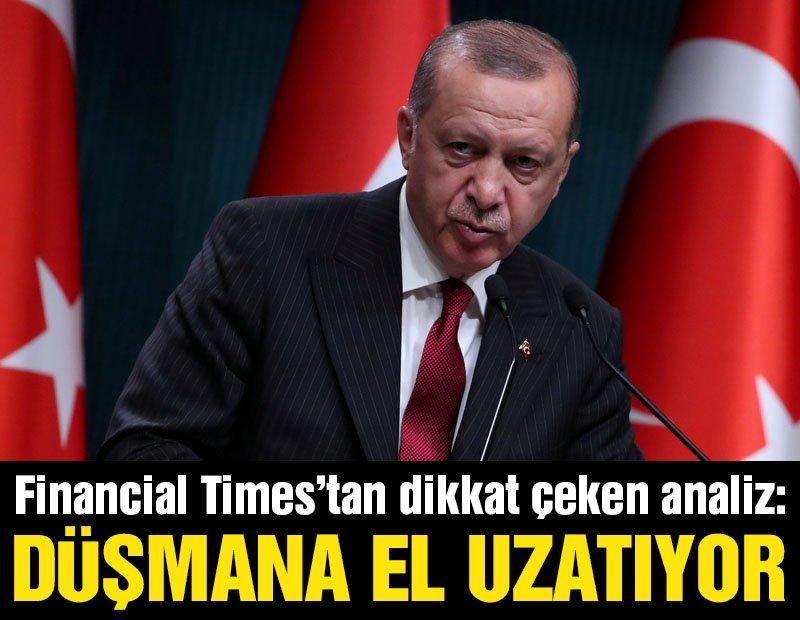 Financial Times'tan Türkiye-Ermenistan analizi: Düşmana el uzatıyor