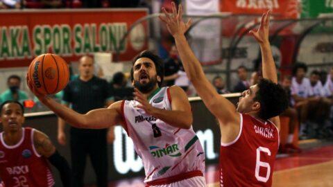 Pınar Karşıyaka ilk yenilgisini Mansera'dan aldı