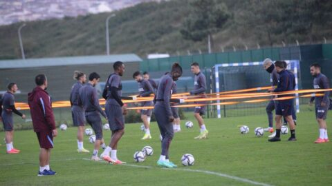 Lider Trabzonspor, Rize maçına 9 eksikle çalıştı