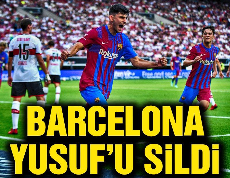Barcelona Yusuf Demir'i sildi!
