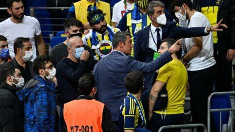 Ali Koç ve Fenerbahçe taraftarı arasında gerilim