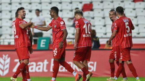 Fraport TAV Antalyaspor kupada 5 golle turladı
