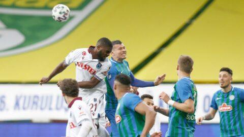 Karadeniz derbisinde Trabzonspor'un ezici üstünlüğü!