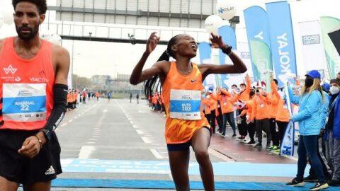 İstanbul Maratonu'nu 'Dünya'nın en hızlı Yarı Maratonu' olarak gösterildi